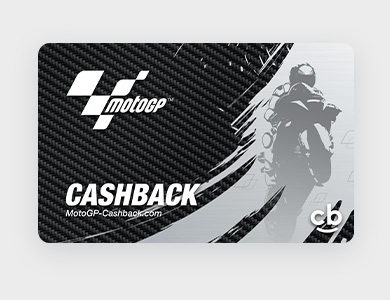 Cashback Card comportant le logo du club ou de l'organisation