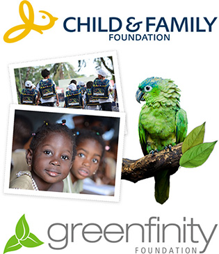 We support children, youths and families in need as well as environmental and climate protection.