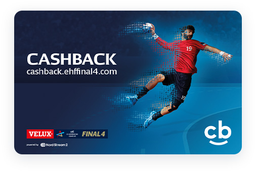 EHF FINAL4 Cashback Card